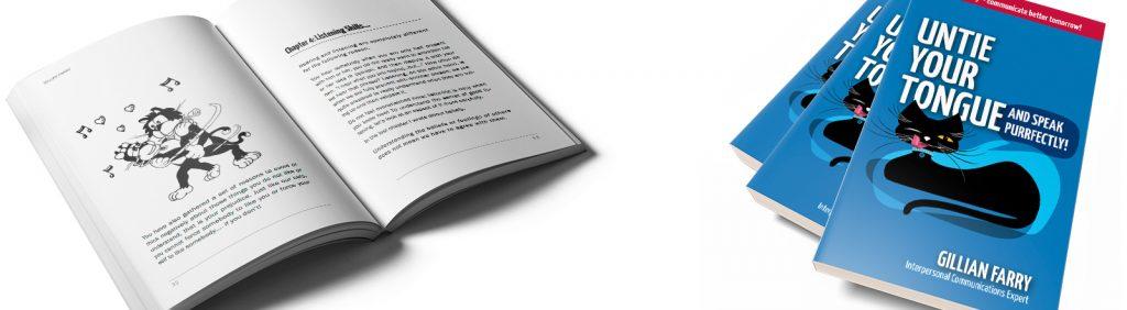 Book design layout
