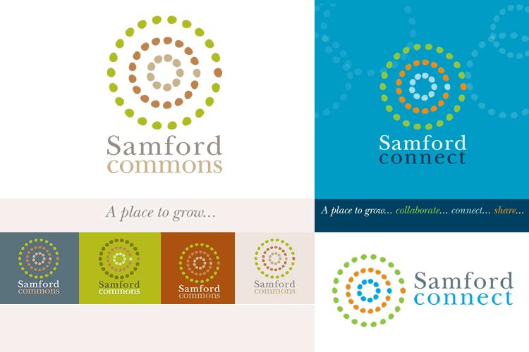 Samford Commons branding