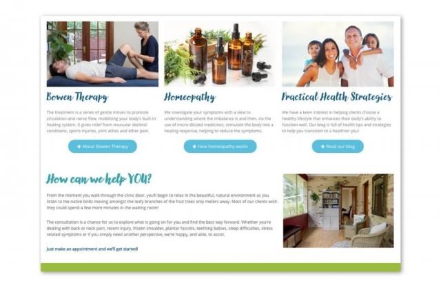 Web page detail