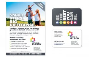 Advert and business card