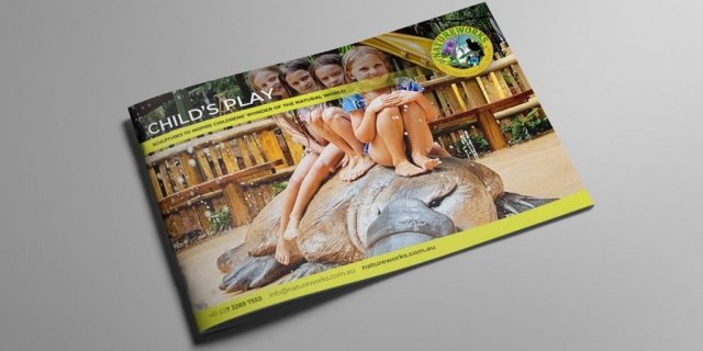 Natureworks Child's play catalogue cover