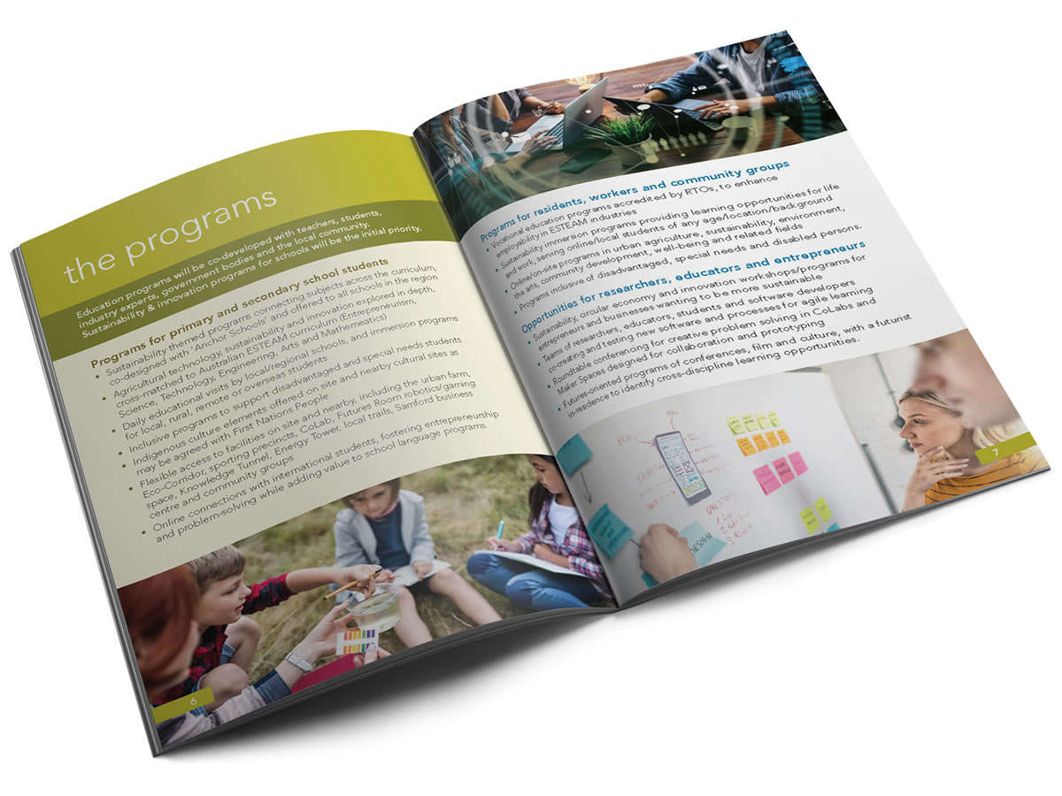 The Fulcrum brochure spread 3