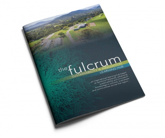 The Fulcrum brochure cover