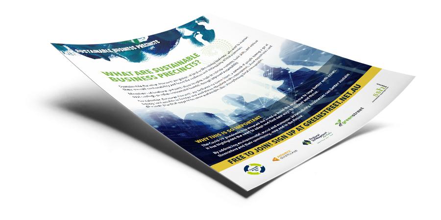 Sustainable precinct flyer